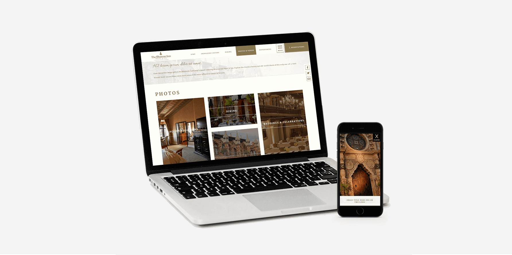 Mission Inn Website Design 2