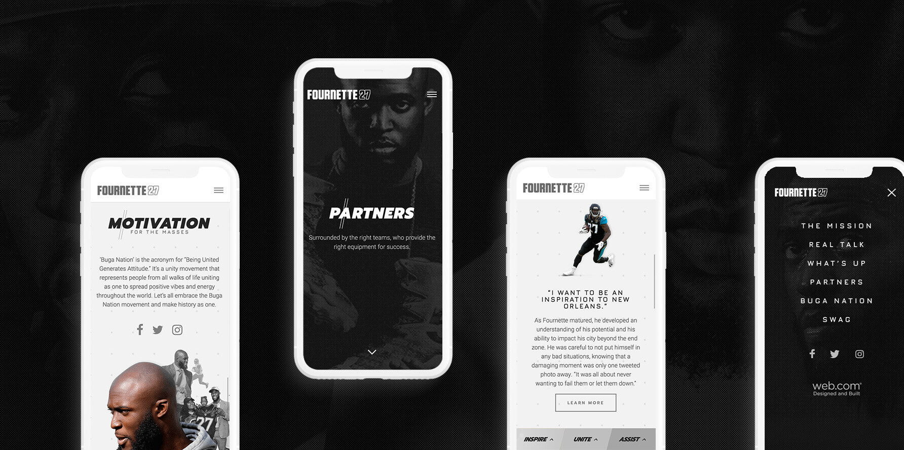 Leonard Fournette Official Website - Mobile